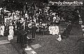 Hagnaby Grange Fete 1914, in Hagnaby, East Kirkby, Lincolnshire 01.jpg