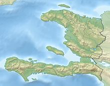 Battle of Vertières is located in Haiti
