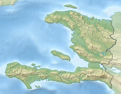 Location map Haiti
