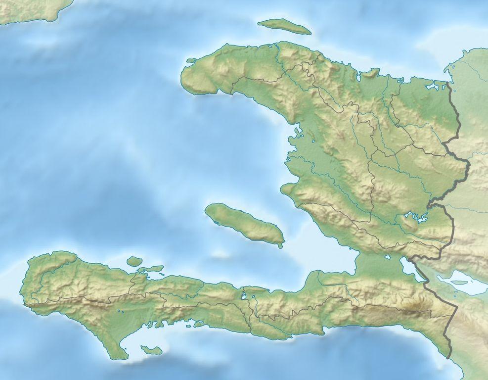 Haiti Karte.File Haiti Relief Location Map Jpg Wikimedia Commons