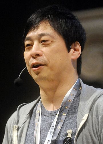 Hajime Tabata served as the director of Final Fantasy XV from 2014 to its release, assuming the role of producer for its post-release content prior to his departure from Square Enix in 2018. Hajime Tabata - Lucca Comics & Games 2016.jpg