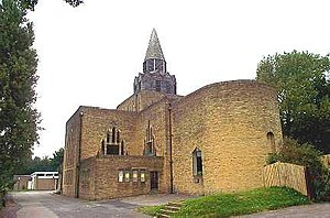 Halton, Leeds - St Wilfrid's Anglican Church, built in 1939