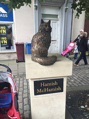 Hamish McHamish - Image: Hamish Mc Hamish statue St Andrews