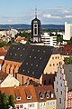 Hanau Marienkirche Blick vom Turm der Johanneskirche 2017.jpg