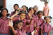 Gyerekek Indiában