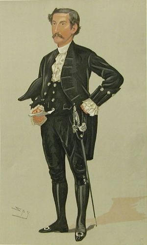 Harry Foster (politician) - Foster caricatured by Spy in Vanity Fair, 1891