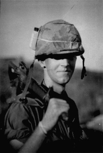Gustav Hasford - Hasford during his time in Vietnam