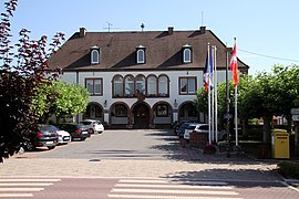 The town hall in Hatten