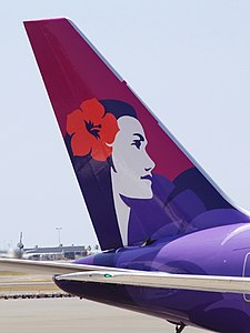 Hawaiian Airlines tail livery.jpg