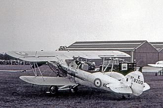 No. 64 Squadron RAF - 64 Squadron Demon I in June 1938