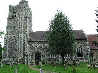 Hawstead - Image: Hawstead Church of All Saints