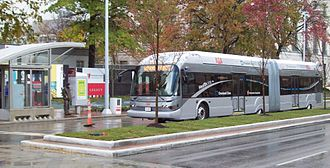 Greater Cleveland Regional Transit Authority - Image: Health Line 2