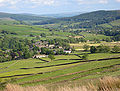 Hebden in Wharfedale, from nnw.jpg