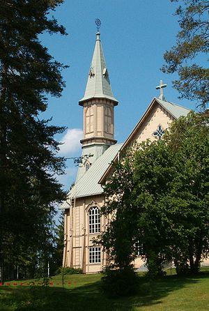 Heinävesi Church - Tower of Heinävesi Church