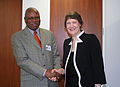 Helen Clark and Ambulai Johnson, UNDP-USA-143-HR-09.jpg