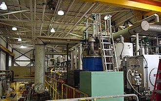 Relativistic Heavy Ion Collider - Image: Helium refrigeration system at Relativistic Heavy Ion Collider (RHIC)