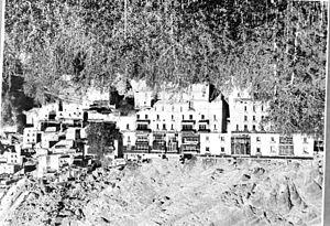 Nicolas Notovitch - Hemis monastery, Ladakh in 1949