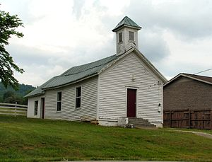 National Register of Historic Places listings in Grainger County, Tennessee - Image: Henderson Chapel AME Church tn 1