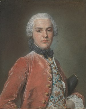 Henry Dawkins - Henry Dawkins. Pastel by Maurice-Quentin de La Tour, c. 1750, in the National Gallery