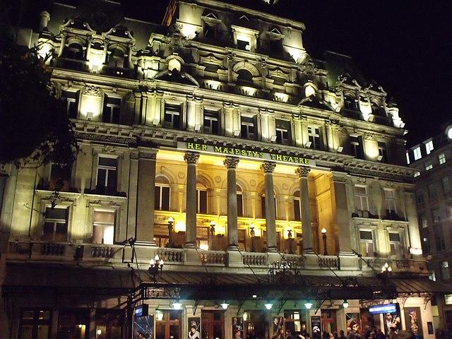 File:Her Majestys Theatre - Haymarket, London - The
