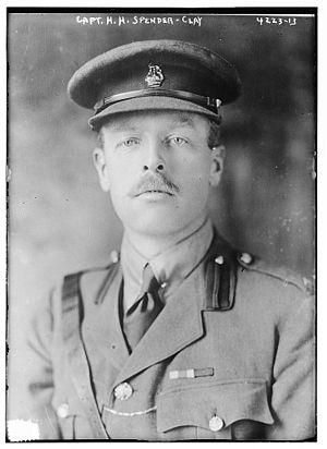 Herbert Spender-Clay - Herbert Henry Spender-Clay in 1917