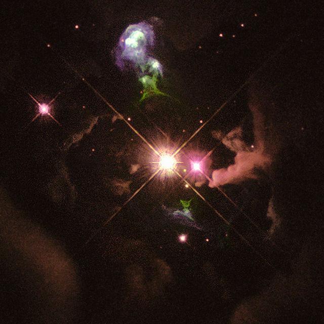 640px-Herbig-Haro_object_HH32 - Giới thiệu về thiên thể Herbig-Haro