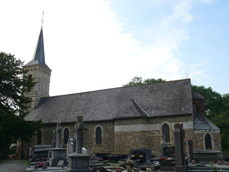 Saint-Eloi's church of Hesdigneul-lès-Boulogne (Pas-de-Calais, France).