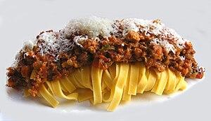 Tagliatelle - Image: Heston Blumenthal's Perfect Tagliatelle Bolognese