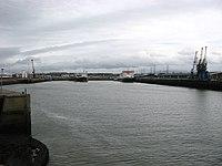 Heysham Harbour, from entrance.jpg