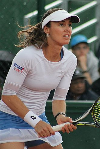 Martina Hingis - Hingis at the 2016 French Open