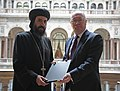 His Grace Bishop Angaelos of the Coptic Orthodox Church Centre (8737673321).jpg