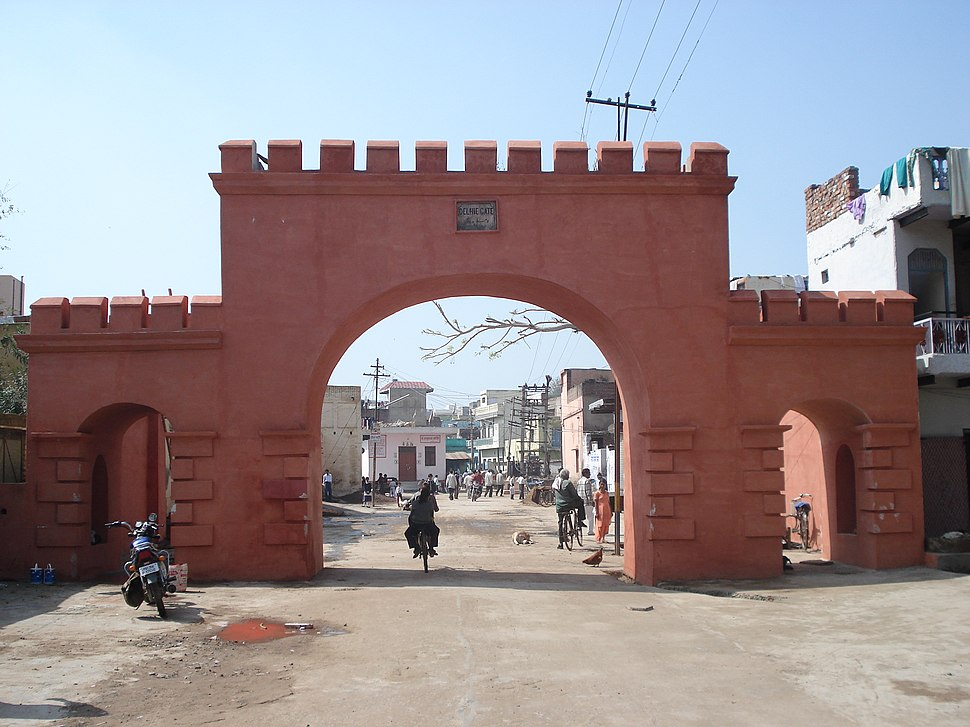 Historic %27Delhie Gate%27 at Rewari