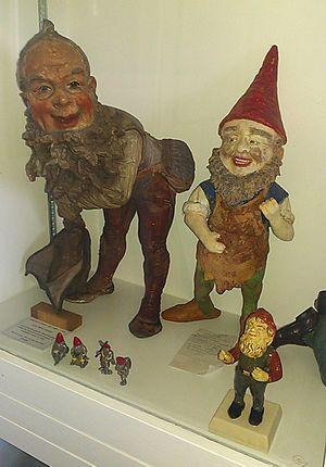 Garden gnome - Image: Historic Garden Gnomes