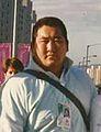Hitoshi Saito en los Juegos Olímpicos de Seúl (1988).jpg
