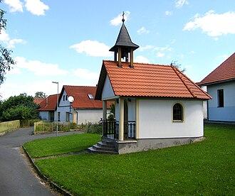 Hořice (Pelhřimov District) - Image: Hořice, chapel