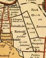 Hoekwater polderkaart - Rietveldse polder onder Hazerswoude.PNG