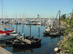 Höganäs harbour