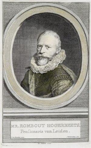 Rombout Hogerbeets - Rombout Hogerbeets by Jacobus Houbraken