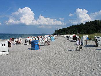 Strand in Hohwacht an der Ostsee