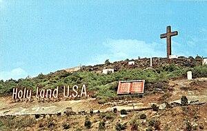 Holy Land USA - Image: Holy Land postcard