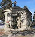 Holy Sepulchre Cemetery, Omaha, Chiodo mausoleum.jpg