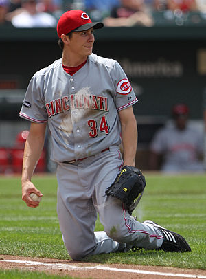 Homer Bailey - Bailey with the Cincinnati Reds