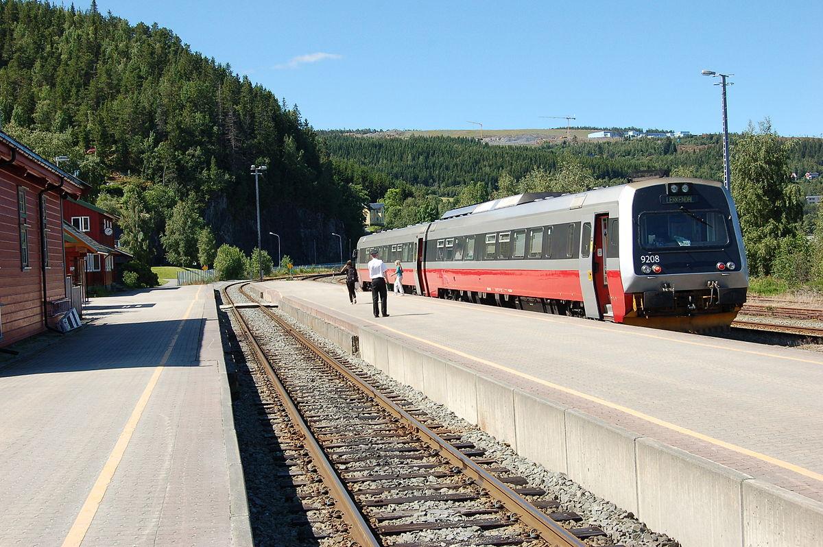 Gauge To Mm >> Trøndelag Commuter Rail - Wikipedia