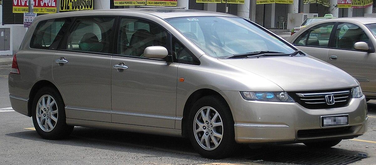 Honda Odyssey (third generation) (front), Serdang.jpg
