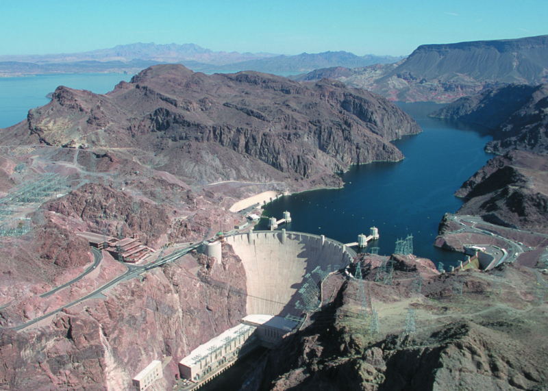 take your vegas trips to the hoover dam