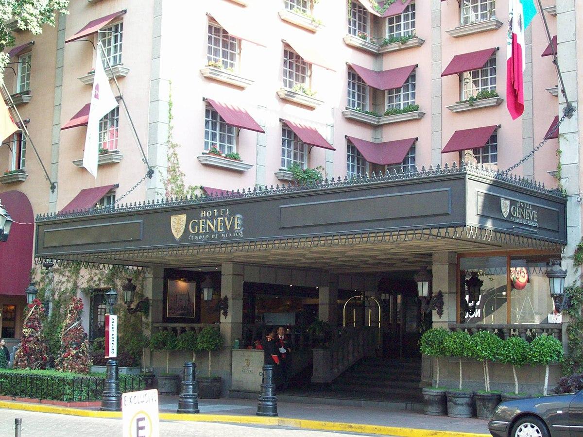 Hotel Geneve Mexico City Wikipedia
