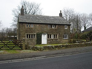 Listed buildings in South Turton - Image: Hough Fold farmhouse geograph.org.uk 118262