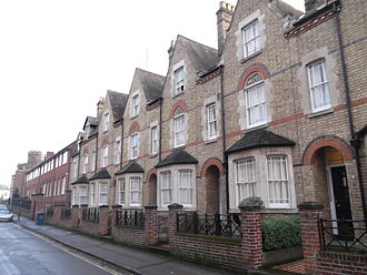 Walton Well Road - Image: Houses on Walton Well Road, Oxford