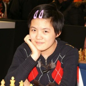 Hou Yifan - Hou Yifan at the 2007 Corus Chess Tournament