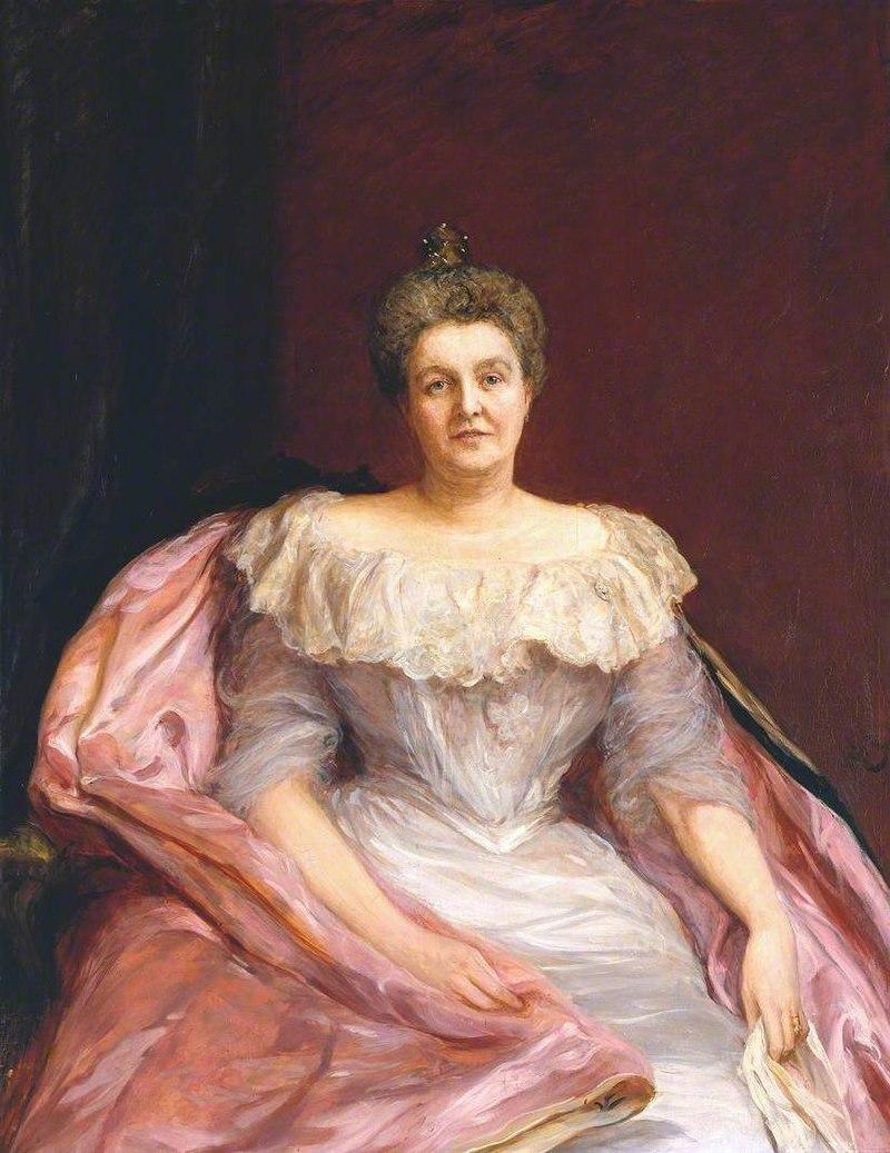 Хуберт фон Херкомер (1849-1914) - Портрет леди Тейт - T07477 - Tate.jpg